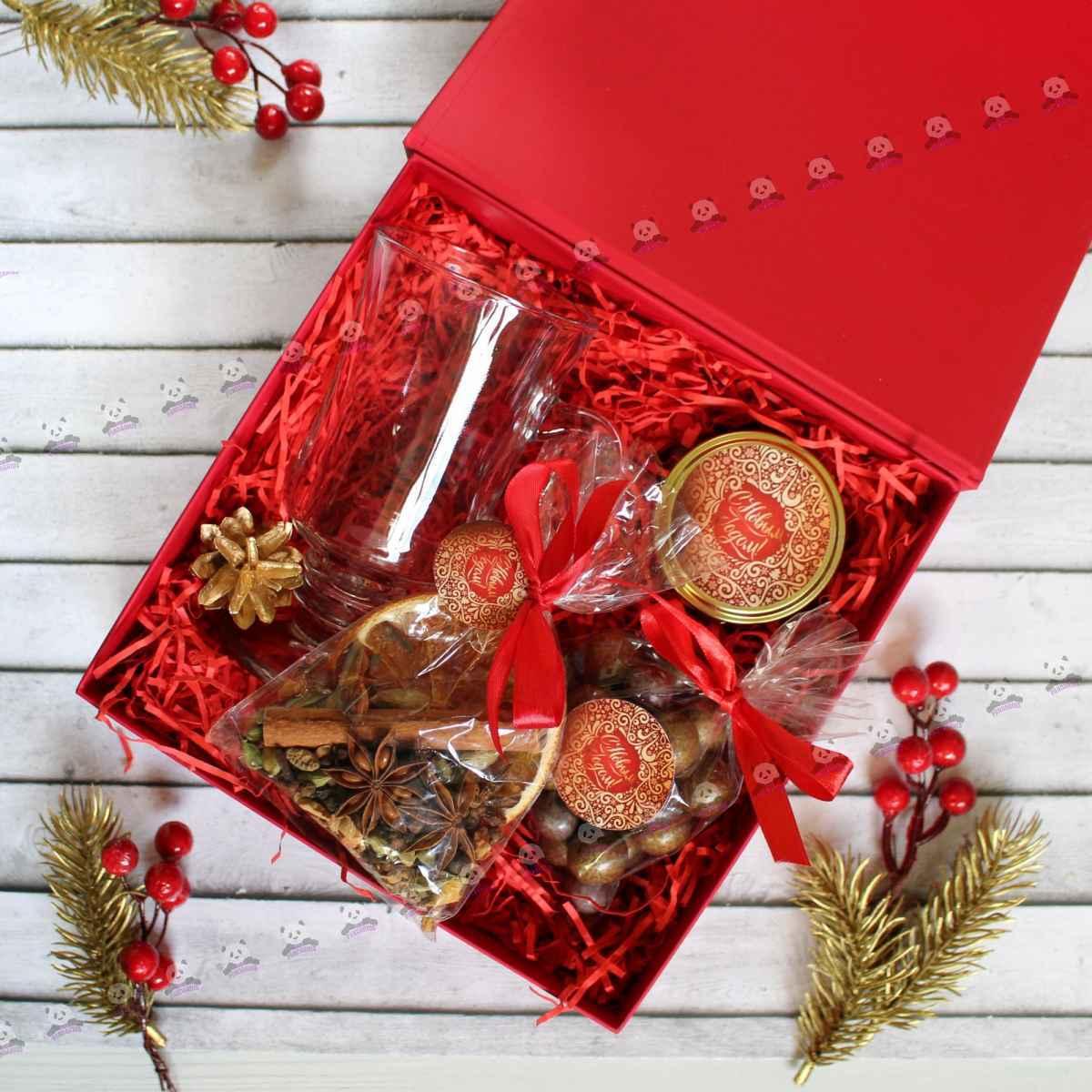 """Новогодние корпоративные подарки """"набор для глинтвейна"""""""