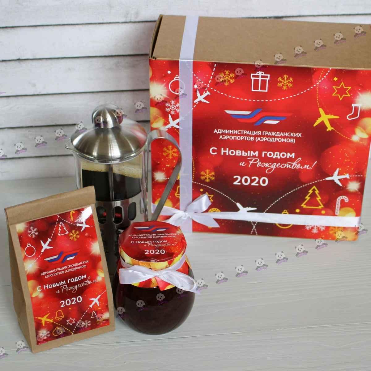 Новогодний чайный набор 2020