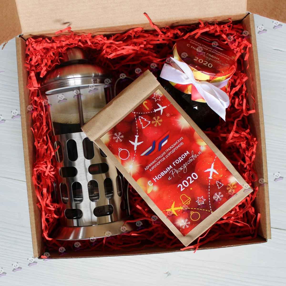 Новогодний чайный набор для партнеров в подарок