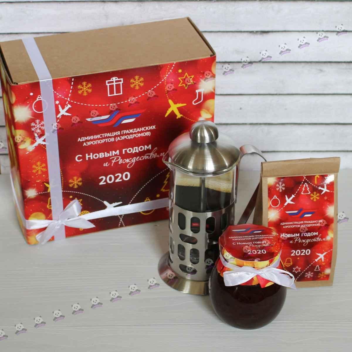 Новогодний чайный набор 2021