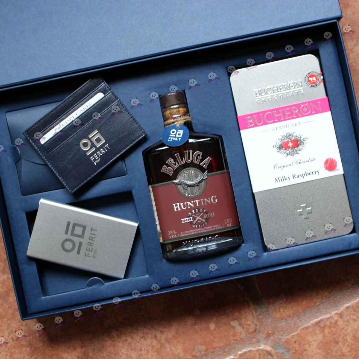 Корпоративные подарки с алкоголем от производителя