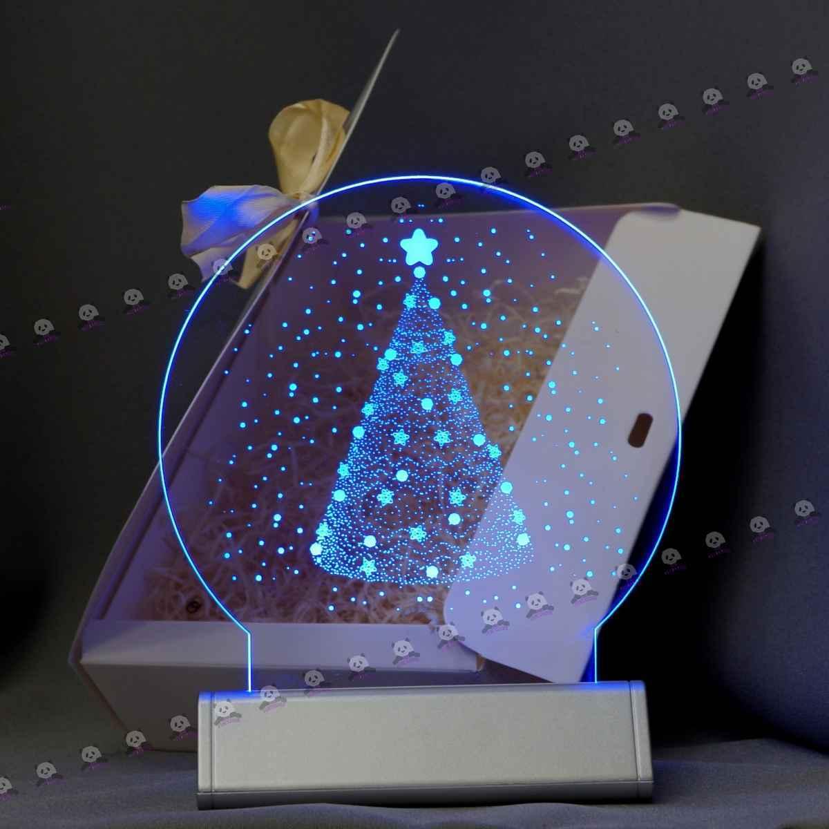 3D светильник новогодний