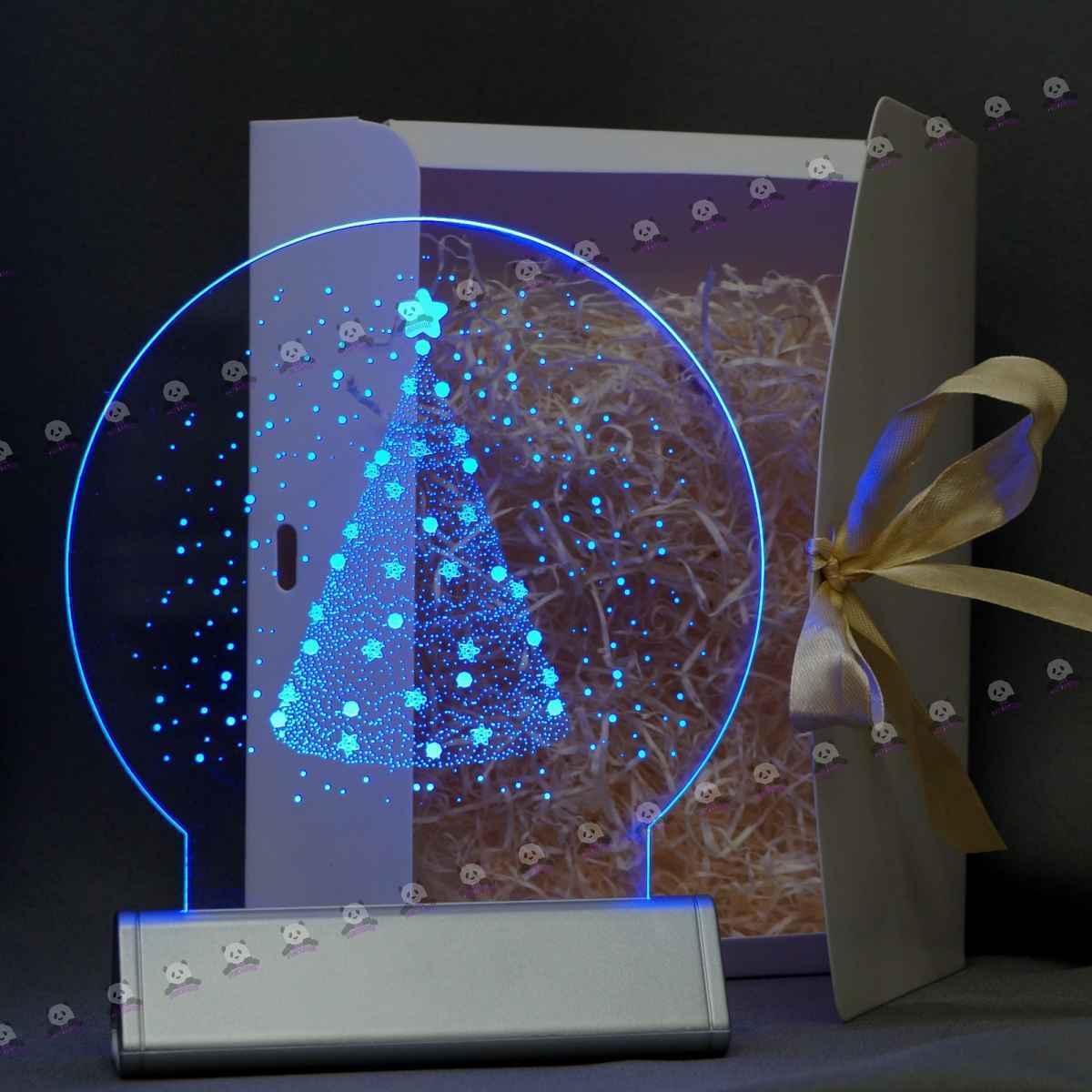 Новогодние 3D светильники