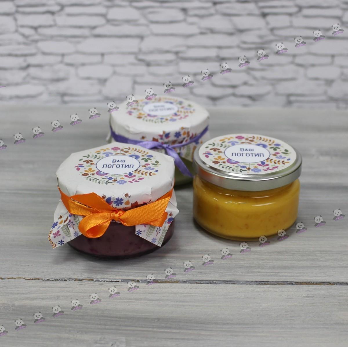 Крем-мёд с логотипом от производителя